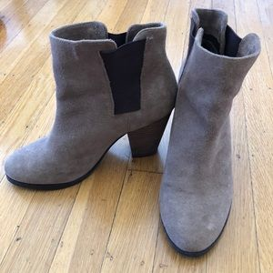 Beige Vince Camuto ankle boots